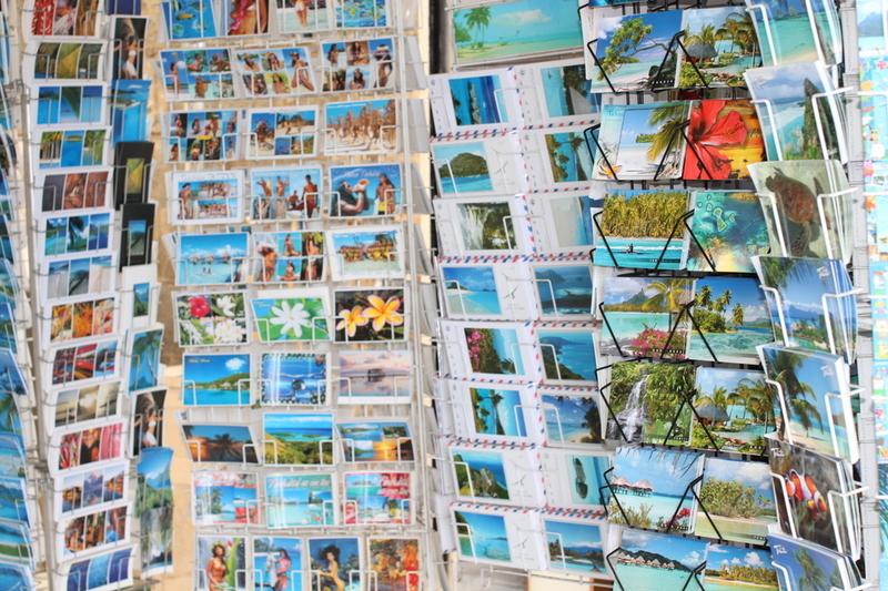 Diverses cartes postales