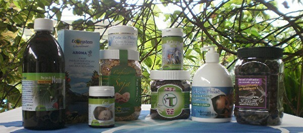 Quelques produits naturels du magasin