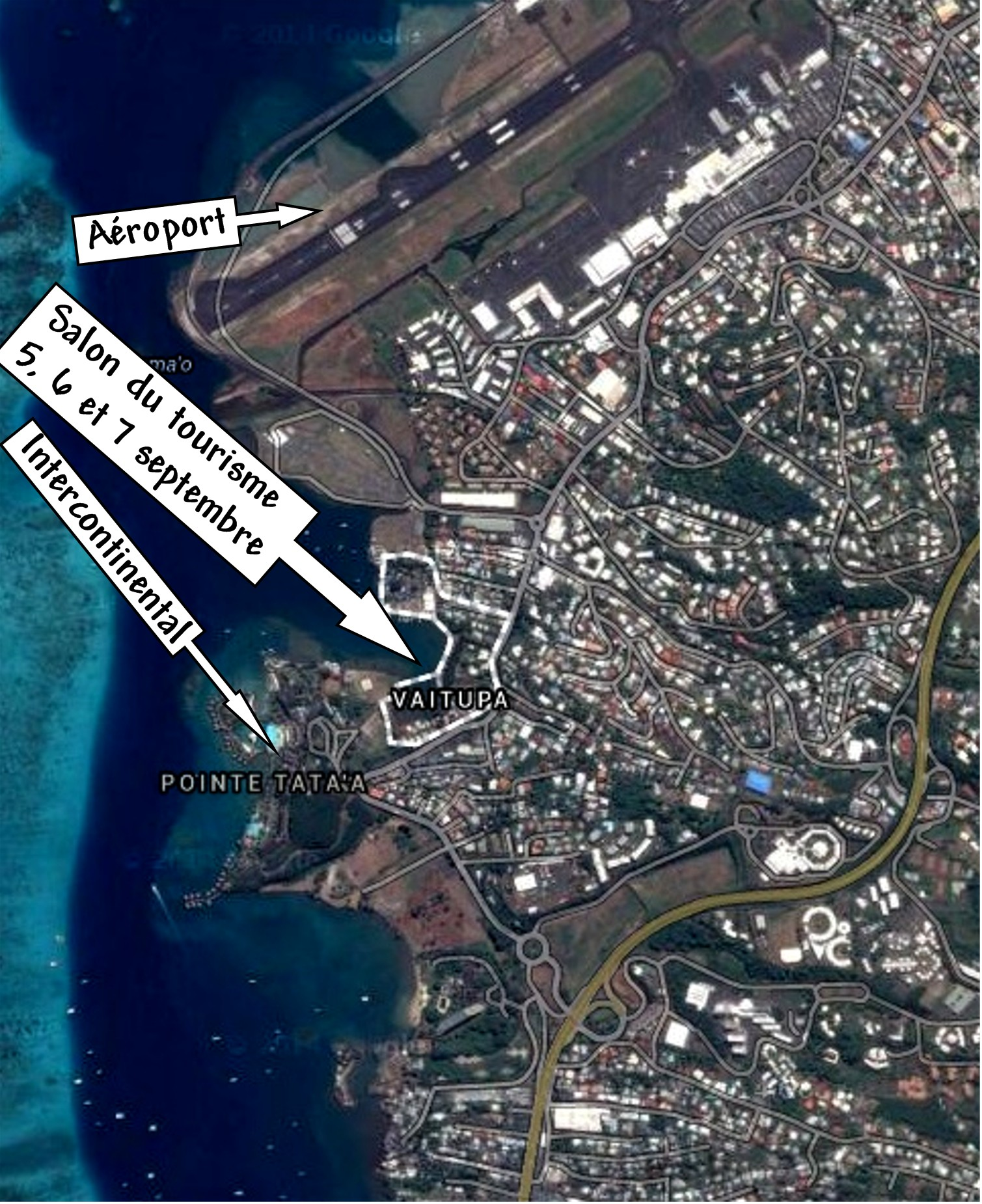 Le salon du tourisme de tahiti for Salon du tourisme alger