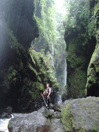 La montagne luxuriante de Tahiti et ses randonnées