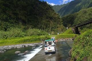Activités sur l'île de Tahiti