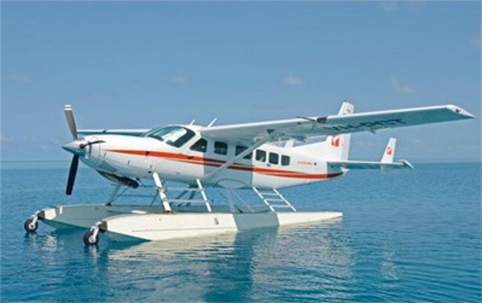 L'hydravion comme moyen de transport sur Tahiti, Moorea, Tupai, Bora Bora et Tahaa