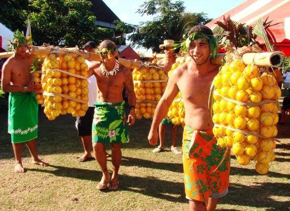 Porteurs d'oranges