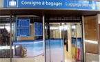 La consigne à bagages de l'aéroport de Tahiti Faa'a