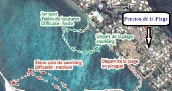 Activités sur les lagons de Tahiti